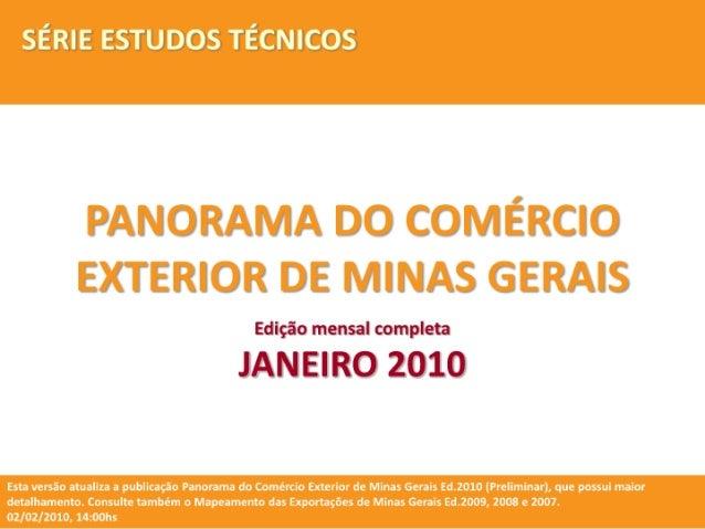01. panorama   comex mg jan2010