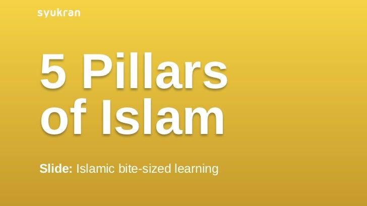 5 Pillarsof IslamLearn Islam the Simple & Visual Way