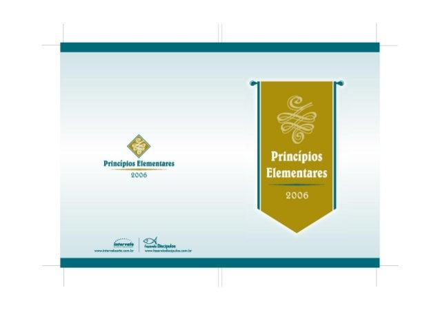 Principios ElementaresPrincipiosElementares