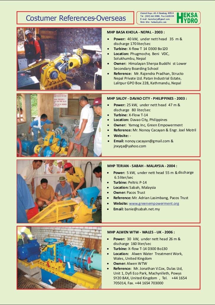 Cimindi Raya AK-4 Bandung 40514Costumer References-Overseas                                         Tel. (022) 6613088, Fa...
