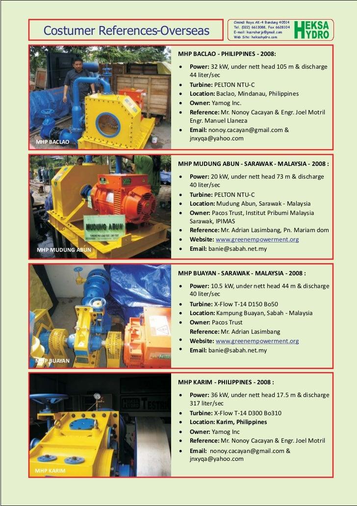 Cimindi Raya AK-4 Bandung 40514  Costumer References-Overseas                                           Tel. (022) 6613088...