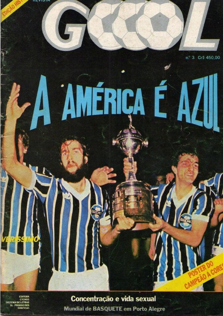 01- Revista gool nº 3 - campeão da américa 1983