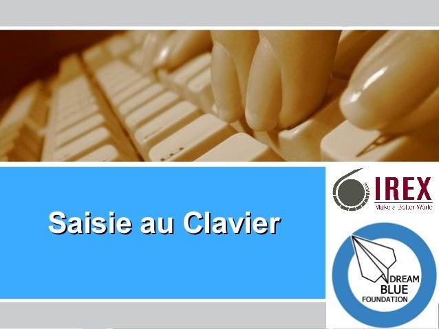 Les Enseignants de l'Ere Technologique – La Tunisie SaisieSaisie au Clavierau Clavier