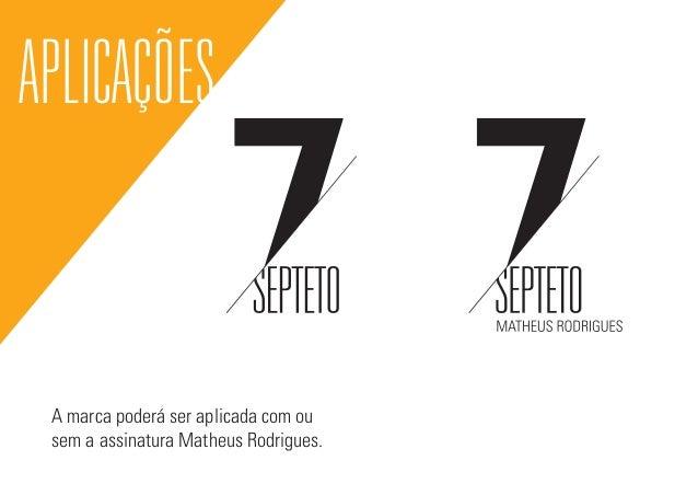 Identidade Visual Banda Matheus Rodrigues Septeto