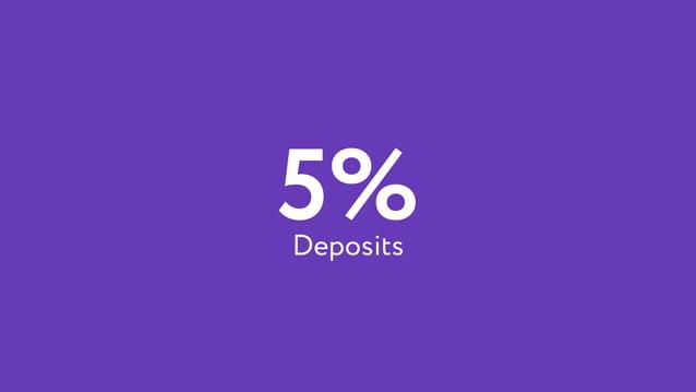 5%Deposits