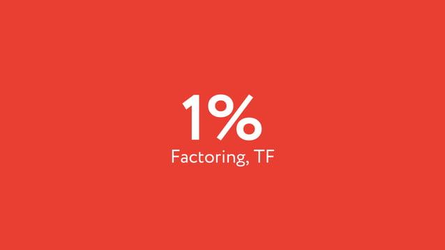 1%Factoring, TF