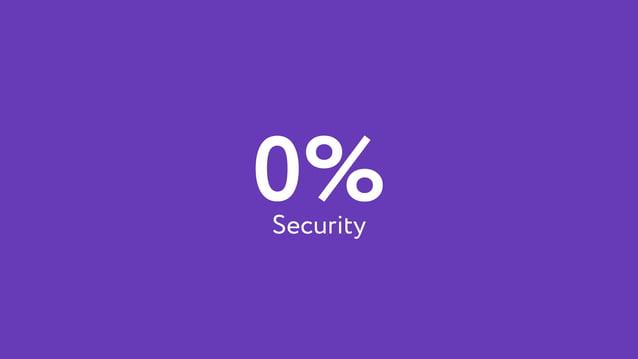 0%Security