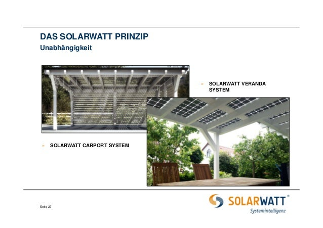 01 solarwatt carport system einf hrung. Black Bedroom Furniture Sets. Home Design Ideas