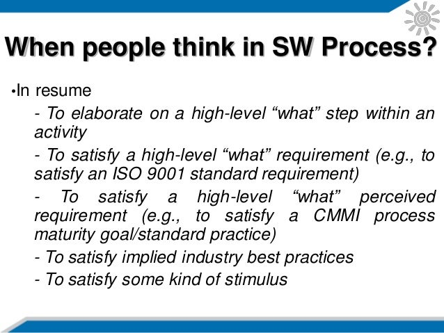 introduction to software process