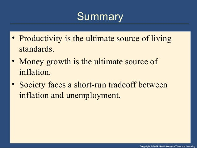 An Explanation of the Ten Principles of Economics