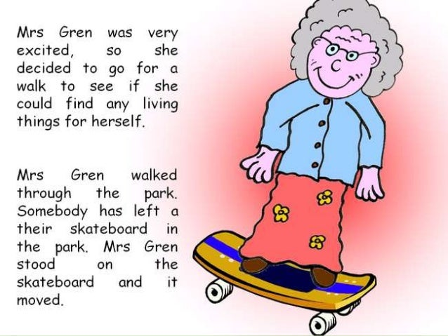 Adventures of MRS GREN: The Characteristics of Life