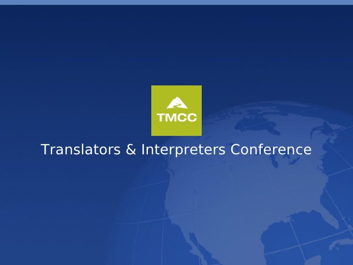 Translators & Interpreters Conference
