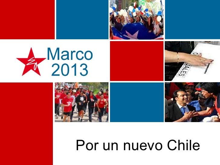 Por un nuevo Chile