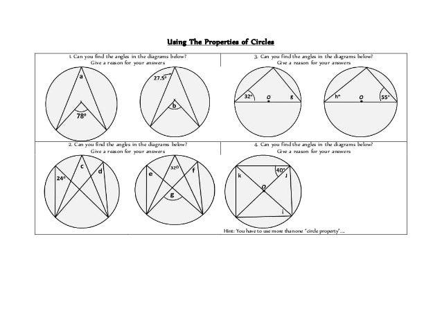 01 using circle properties