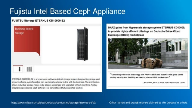 Using Recently Published Ceph Reference Architectures to
