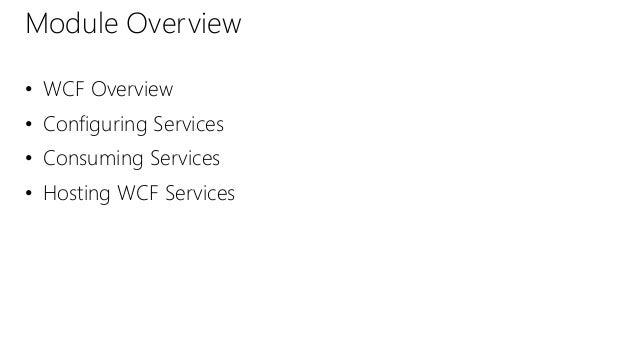 1 Wcf Services Exam 70 487