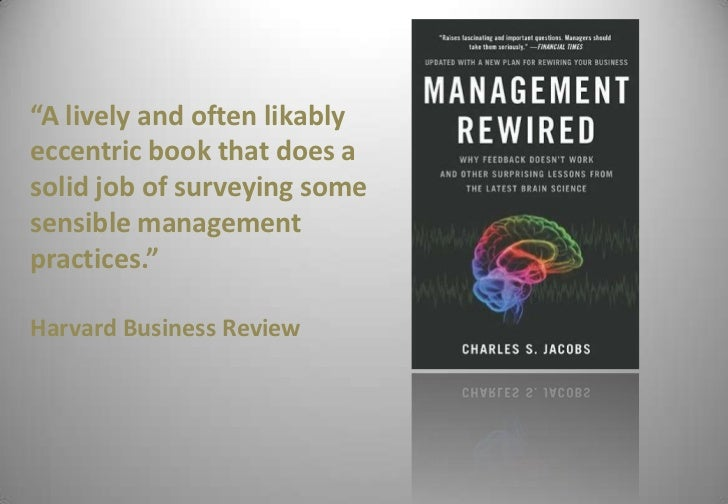 management rewired jacobs charles s