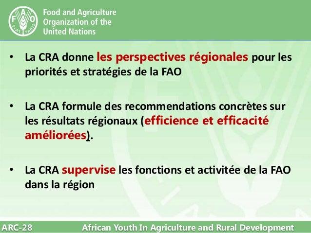 28th fao arc programme de travail pluriannuel de la for Usda rural development louisiana