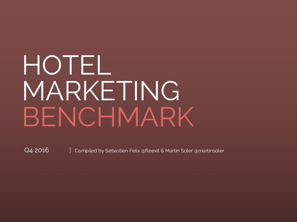 Hotel Marketing Benchmark #10 - Virtual reality, Chatbots, AI, hotel industry shifts and more