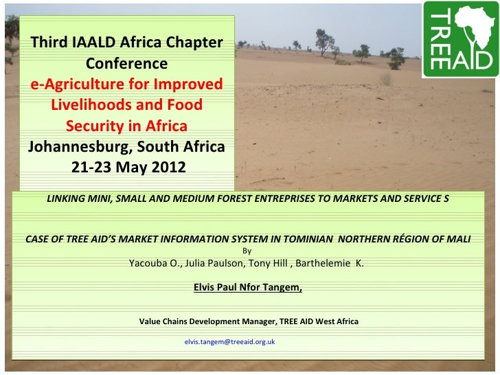 Third IAALD Africa Chapter         Conferencee-Agriculture for Improved   Livelihoods and Food     Security in AfricaJohan...