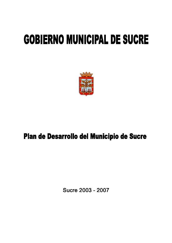 Sucre 2003 - 2007