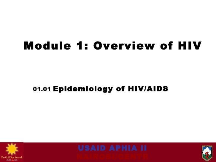 0101 epidemiology of hiv aids