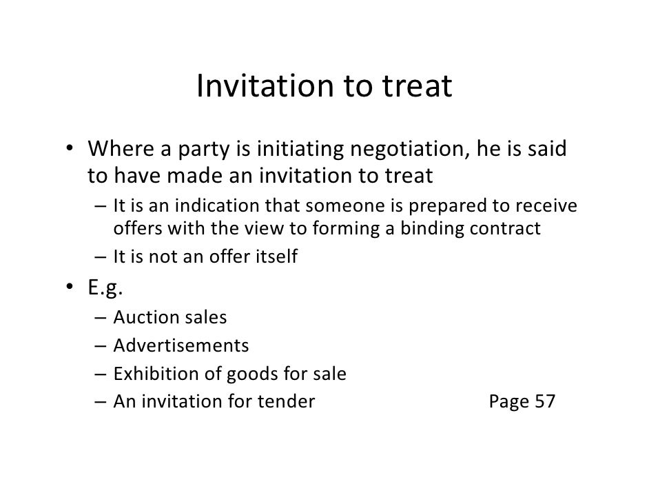 0101the law of contract invitation to treat stopboris Choice Image