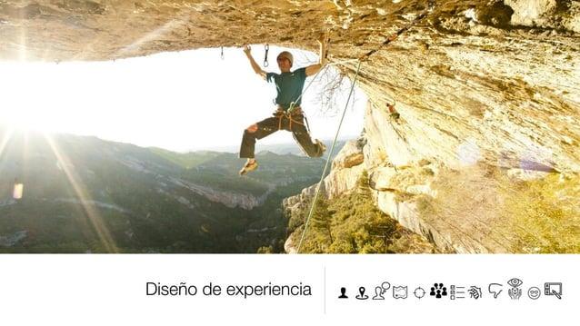 Diseño de experiencia