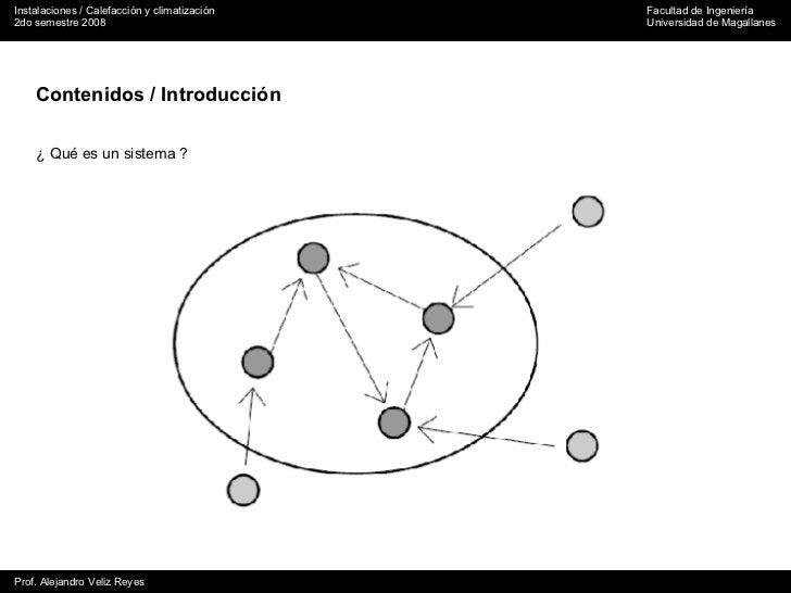 Contenidos / Introducción ¿ Qué es un sistema ?
