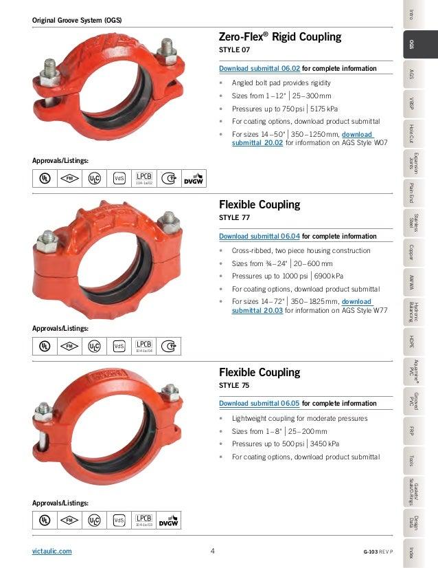 Victaulic- G-103 - Product Catalog