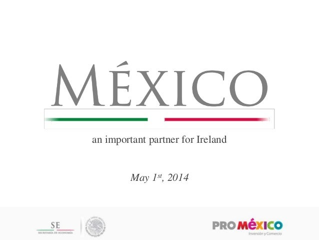an important partner for Ireland May 1st, 2014