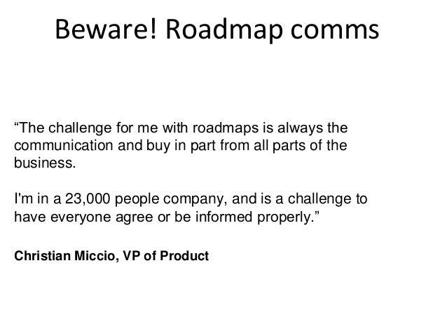roadmap comms 16