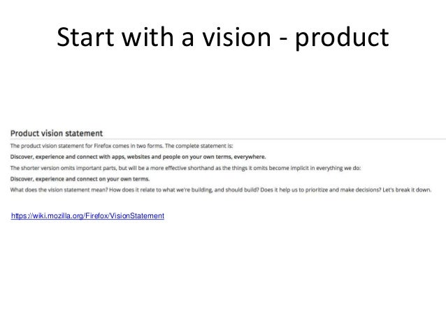 start with a vision business 27
