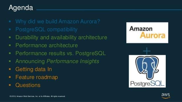 Introducing Amazon Aurora with PostgreSQL Compatibility - AWS Online Tech Talks Slide 2