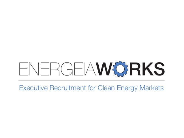 Executive Recruitment for Clean Energy Markets