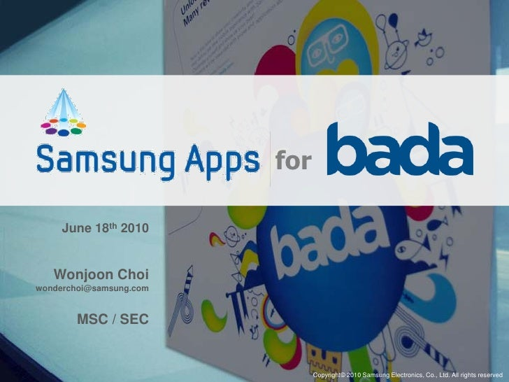 samsung apps for bada