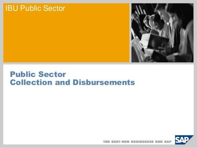 IBU Public Sector Public Sector Collection and Disbursements
