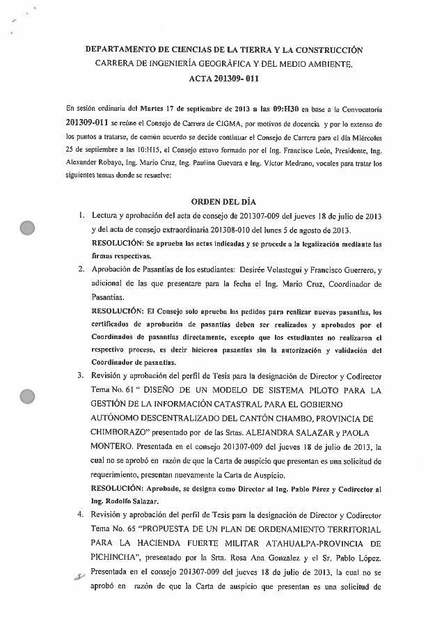 Acta N°011
