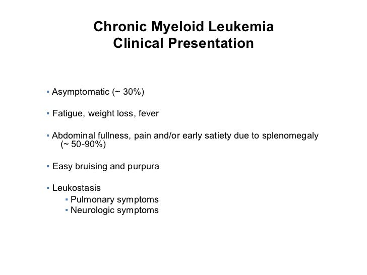 Myeloid Leukemia: Causes, Symptoms, Treatment, Survival Rate, Life Expectancy