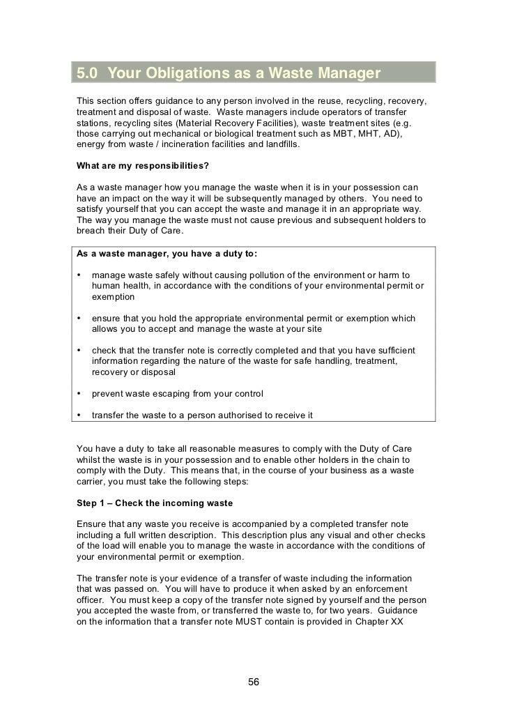 Consultation on Zero Waste Regulations