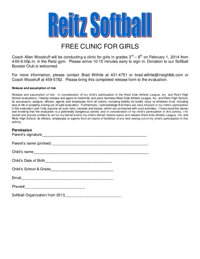 FREE CLINIC FOR GIRLS Coach Allen Woodruff will be conducting a clinic for girls in grades 3rd – 8th on February 1, 2014 f...
