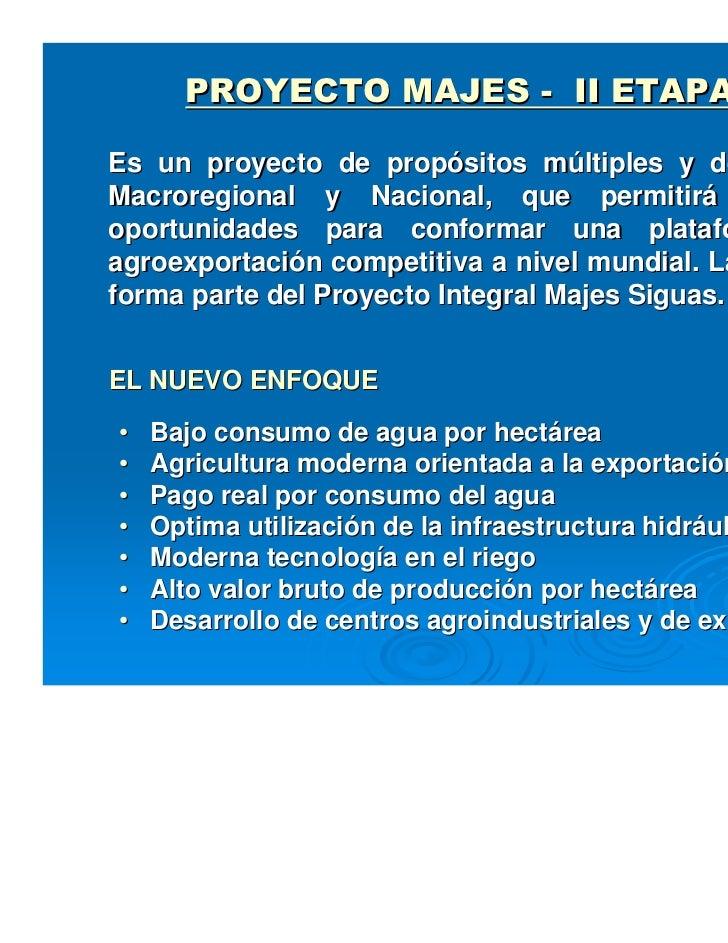 proyecto majes siguas 2 Slide 3