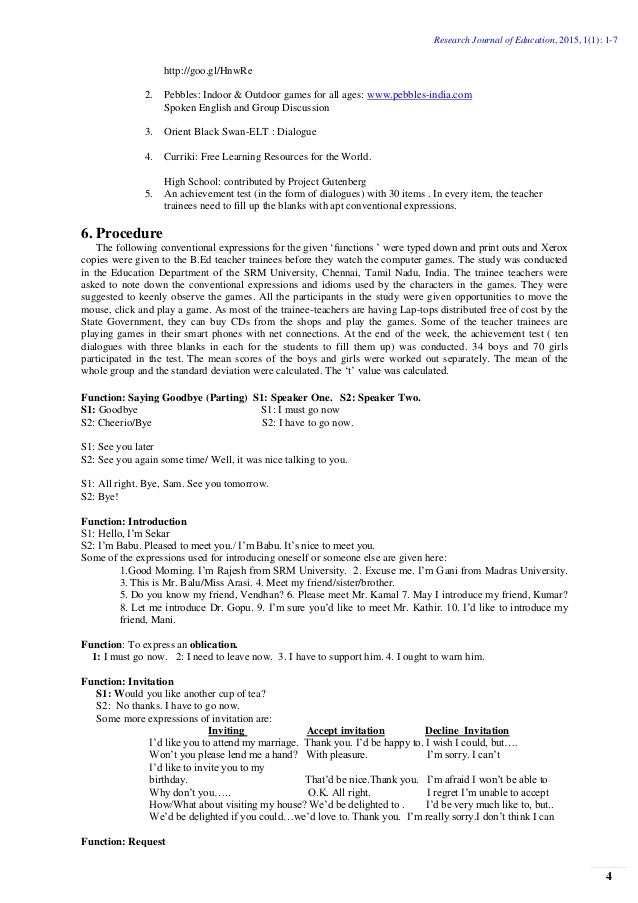 Thesis in computer education
