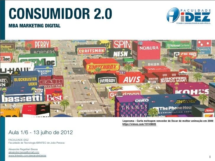CONSUMIDOR 2.0MBA MARKETING DIGITAL                                                 Logorama - Curta metragem vencedor do ...