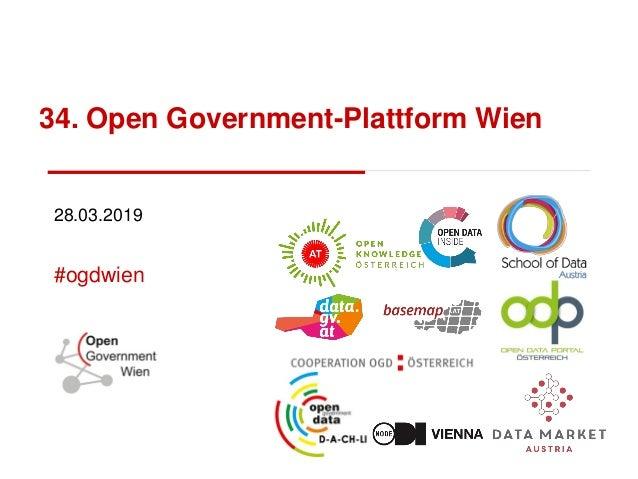 34. Open Government-Plattform Wien 28.03.2019 #ogdwien