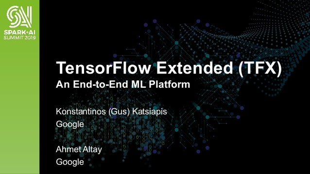 TensorFlow Extended: An End-to-End Machine Learning Platform for Tens…