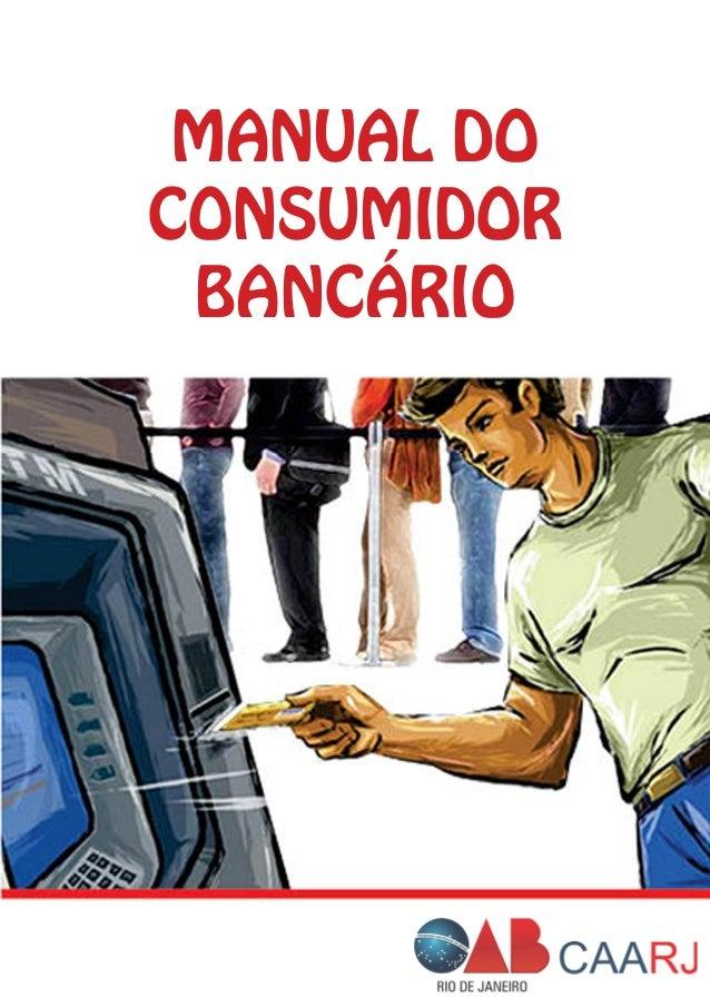 MANUAL DO CONSUMIDOR BANCÁRIO