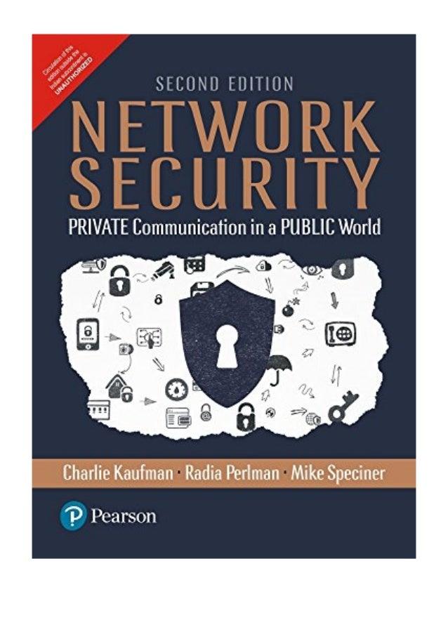 Network security charlie kaufman ebook free