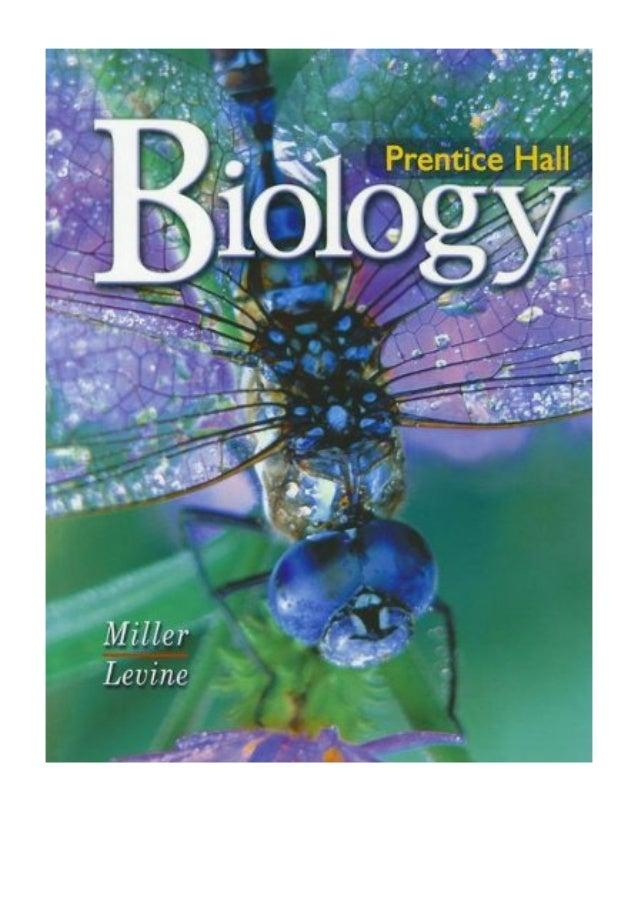 Prentice hall biology workbook