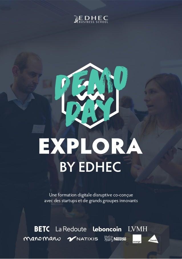 demo day Une formation digitale disruptive co-conçue avec des startups et de grands groupes innovants